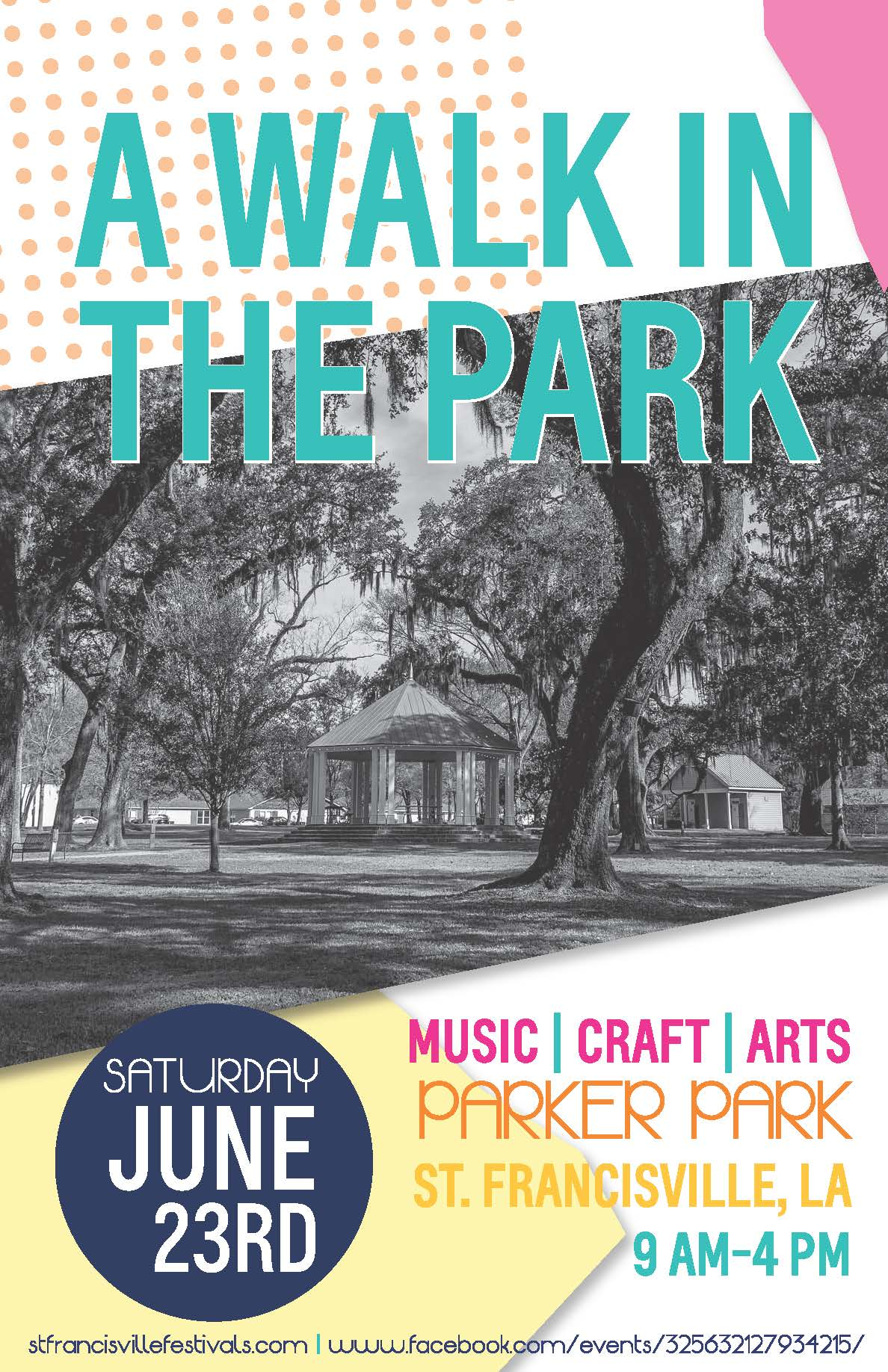 A Walk in the Park Poster JUNE 18 final